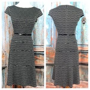 Anne Klein Belted Dress