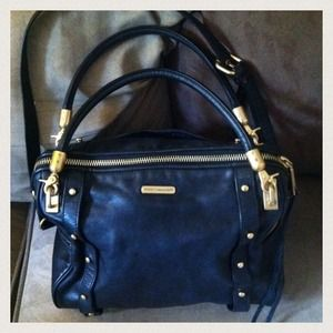 Rebecca Minkoff Cupid black satchel bag