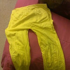 Other - Yellow leggings