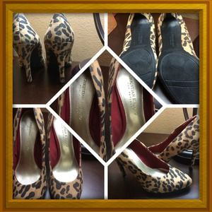 Christian Siriano Shoes - Cheetah print heels Christian Soriano for Payless