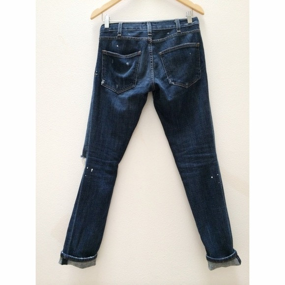Current/Elliott Denim - Current Elliott The Skinny in Love Destroyed 2