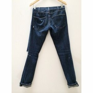 Current/Elliott Jeans - Current Elliott The Skinny in Love Destroyed 2