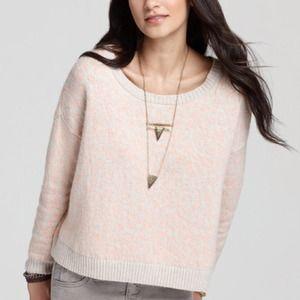 Free people leopard sweater size L