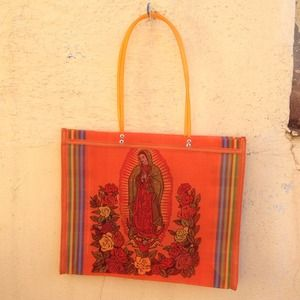 Virgen de Guadalupe shopper bag.