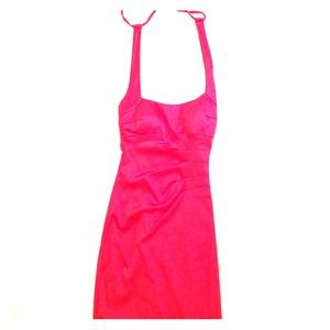 Cache red cocktail dress