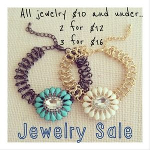 | Jewelry Sale $10 and under |