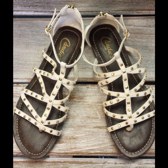3d59fb23e358 Candies Shoes - Candies Gladiator White sandals