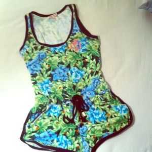Juicy Couture Tropical Romper