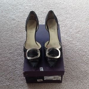Prada Shoes - Prada D'Orsay Kitten Heels