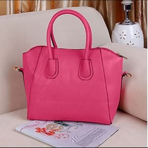 Handbags - Hot Pink Modern Style Purse