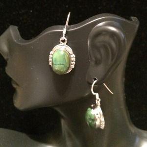 Jewelry - Green Jasper earrings