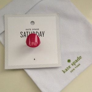 NEW Kate Spade Flat Circle Ring