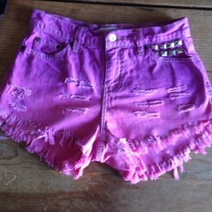 Destroyed shorts