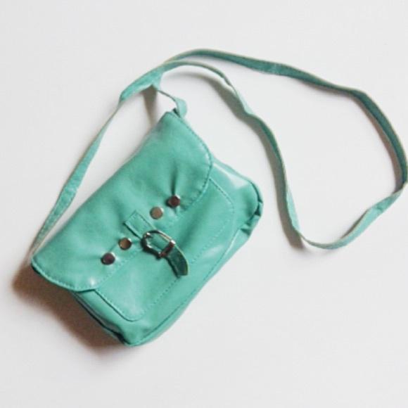 mint crossbody bag os from s closet on poshmark