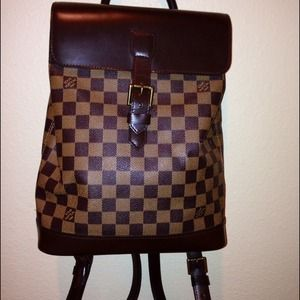 LV Damier Canvas Soho Limited Edition Backpack