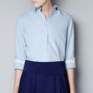 Zara wash cotton shirt
