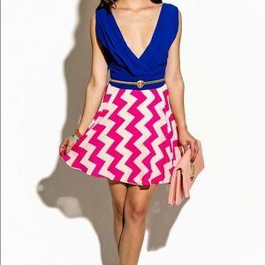 NEW ITEM!!! Chevron Mini Dress