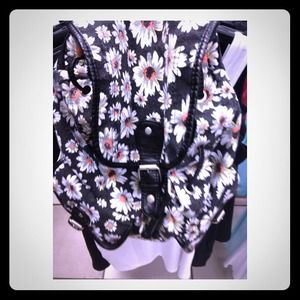 Daisy vintage backpack