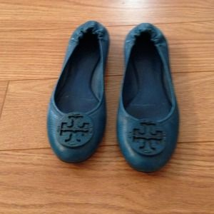 Tory Burch Shoes - Tory burch revas in peacock blue