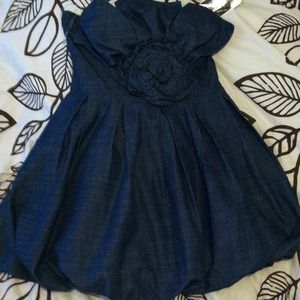 Denim Party dress