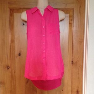 Tops - New with tags high low shirt