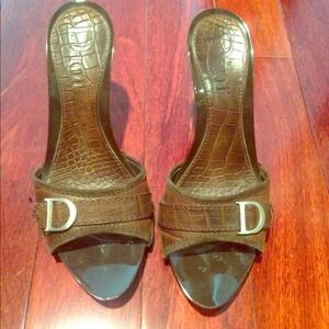 Dior brown sandal