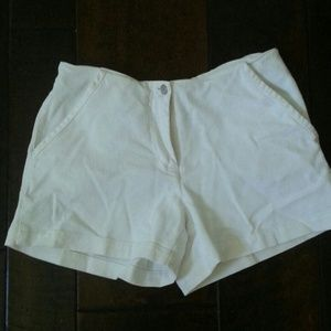 Boston Proper White Shorts