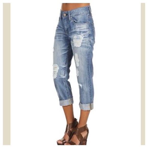 57% off Denim - Distressed Capri jeans ONE DAY SALE SOLD from ...