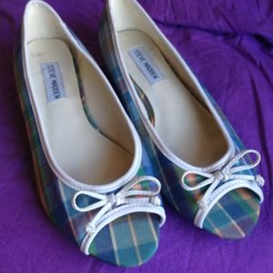 Steve Madden Shoes - Steve Madden Plaid Peep Toes