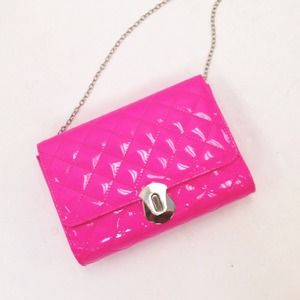 Handbags - Quilted Neon Pink Bag 💗