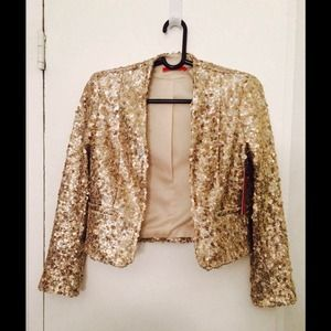 Alice + Olivia sequin jacket