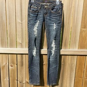 Distressed Davinci Jeans