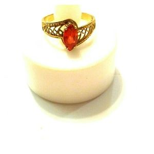 Jewelry - 10K Gold Ring Marquise Shape Stone