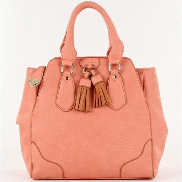 Bags - Pretty Blush/Salmon Satchel
