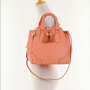 Bags - Pretty Blush/Salmon Satchel 3