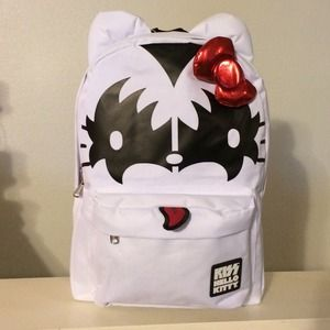 363c169cac Hello Kitty Bags - KISS Hello Kitty BackPack NWT - firm Price