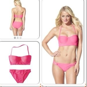 🎁 Midkini 2-Piece Swimwear Top & Bottom M👙