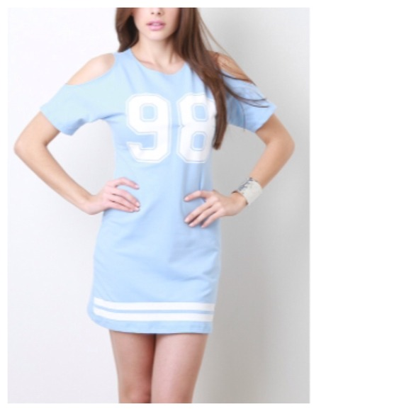 Jersey Mini Dress