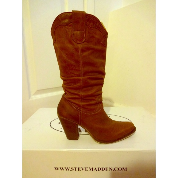 46% off Steve Madden Shoes - Steve Madden Western Boots from ...