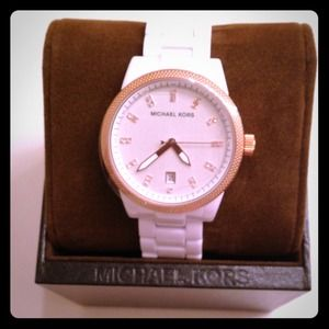 Michael Kors White Watch NWT