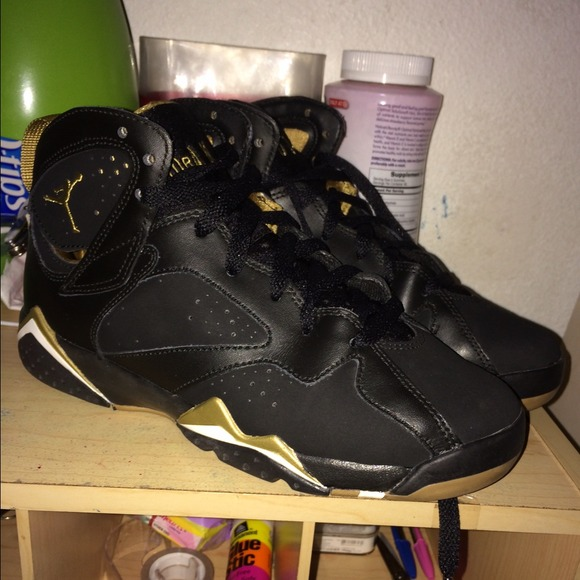 Next To Real Retro S Fake Retro S: Jordan Retro GMP 7s From S's Closet On Poshmark