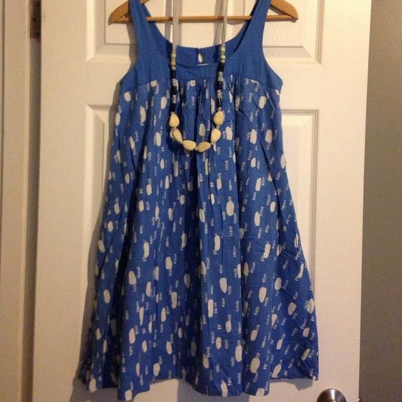 Old Navy Dresses Bundled Blue Pattern Swing Dress Poshmark Awesome Swing Dress Pattern