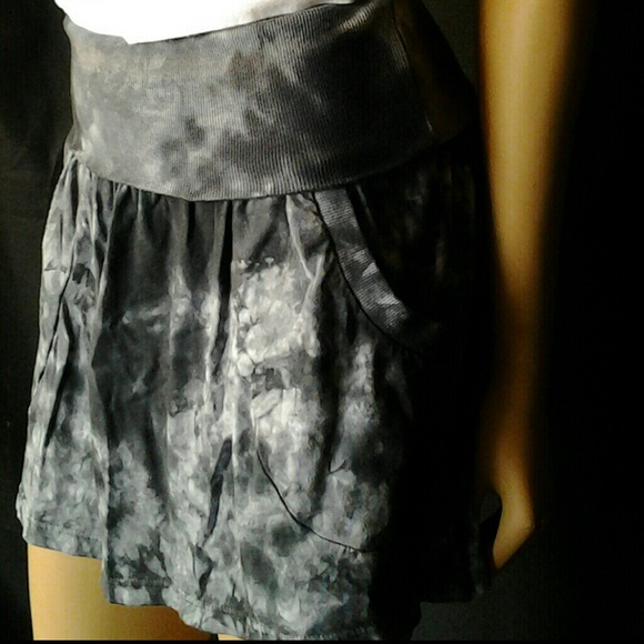 263591791c T Party Skirts | Sold Black Tie Dye Skirt | Poshmark