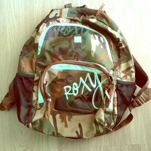 SOLD - Roxy Camoflogue Backpack