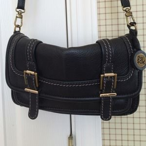 the sak  Handbags - **The Sack** black cross body handbag.