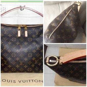 Louis Vuitton Bags - Louis Vuitton sully on sale today tradesy.com 826a7e9437e22