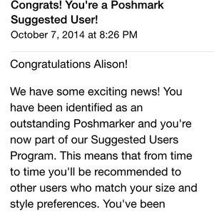 I'm a suggested user!!! 🎉🎉🎉🎉