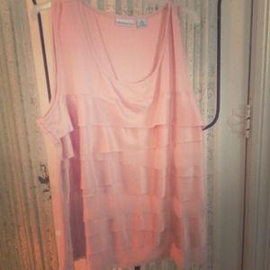 Tops - Soft pink top