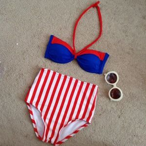 Other - High waisted swimsuit