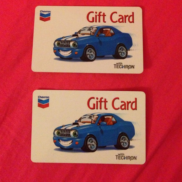 Chevron and Texaco gas cards ! 2 for price of 1 !